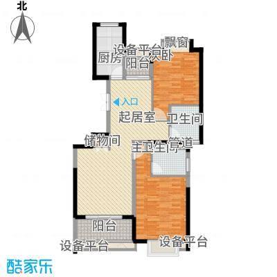 南方城106.70㎡上海南方城三期户型10室