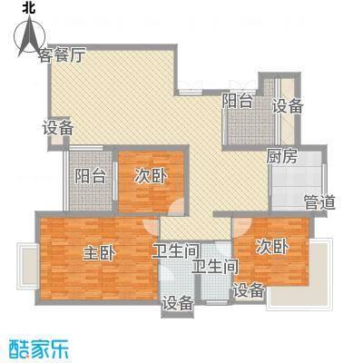 东泰花园嘉华苑82.00㎡东泰花园嘉华苑3室户型3室