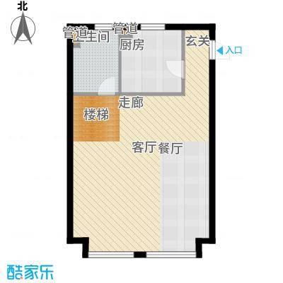 圣罗伦斯83.00㎡圣罗伦斯户型图D户型1层3室2厅2卫户型3室2厅2卫