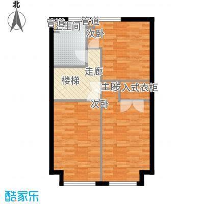 圣罗伦斯83.00㎡圣罗伦斯户型图D户型2层3室2厅2卫户型3室2厅2卫