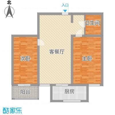 东泰花园又一居118.00㎡东泰花园又一居4室户型4室