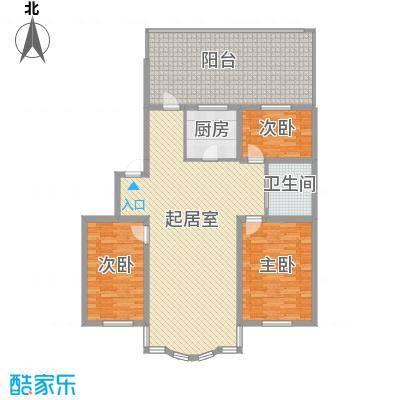 柳湖绿园114.35㎡柳湖绿园户型图3室2厅1卫户型10室