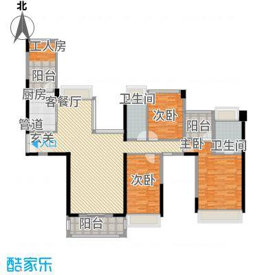 东泰花园荣华苑108.00㎡东泰花园荣华苑3室户型3室