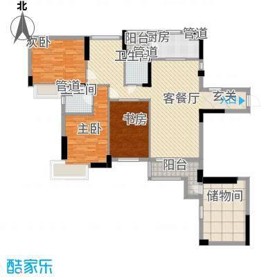 富恒浅水湾152.92㎡富恒浅水湾户型图11、13、15栋首层01户型4室2厅2卫1厨户型4室2厅2卫1厨