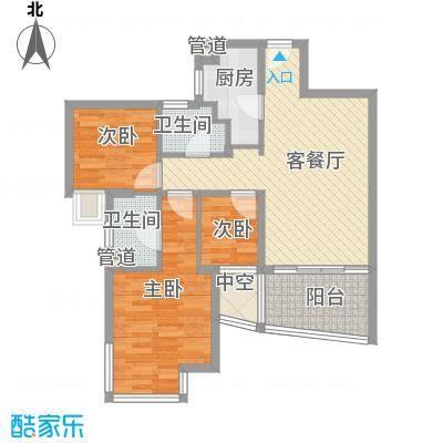 万科金域蓝湾深圳万科金域蓝湾一期户型图8户型10室