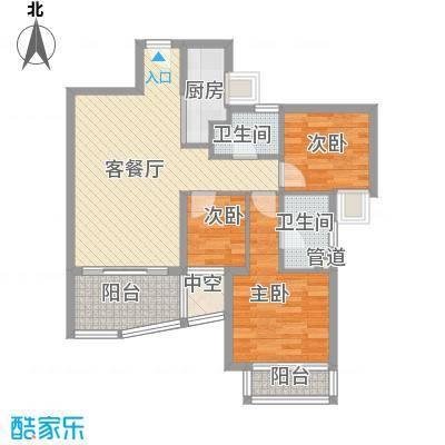 万科金域蓝湾深圳万科金域蓝湾一期户型图6户型10室