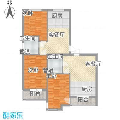 福源山庄福源山庄3室户型3室