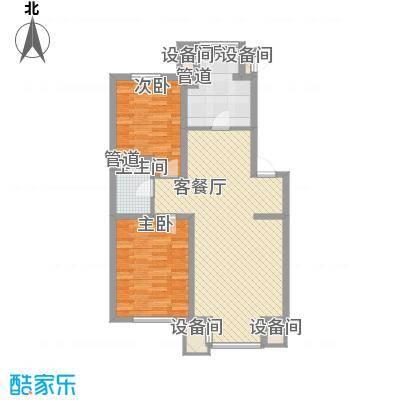 北美家园89.37㎡北美家园户型图D户型2室1厅1卫户型2室1厅1卫