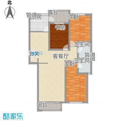 坤泰新界139.10㎡坤泰新界户型图K2户型3室2厅2卫1厨户型3室2厅2卫1厨