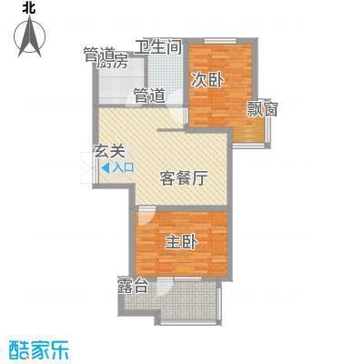 �悦香湾84.00㎡�悦香湾2室户型2室
