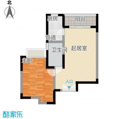 东兴花园92.00㎡东兴花园1室户型1室