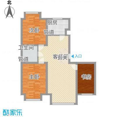 �悦香湾112.00㎡�悦香湾1室户型1室