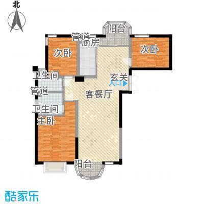 香堤湾146.62㎡香堤湾户型图A户型3室2厅2卫1厨户型3室2厅2卫1厨