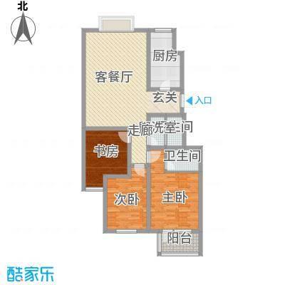 华福国际122.00㎡华福国际户型图c53室2厅2卫户型3室2厅2卫