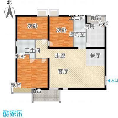 齐鲁世纪园162.55㎡齐鲁世纪园户型图3室户型图3室2厅2卫1厨户型3室2厅2卫1厨
