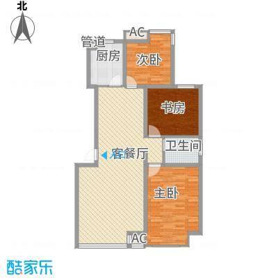 御龙湾108.07㎡御龙湾户型图A2户型3室2厅1卫户型3室2厅1卫