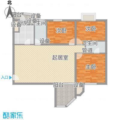 凯旋城艾丽舍145.00㎡凯旋城艾丽舍3室户型3室