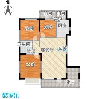 U-WORLD优品天地104.96㎡U-WORLD优品天地户型图A-3户型3室2厅1卫1厨户型3室2厅1卫1厨