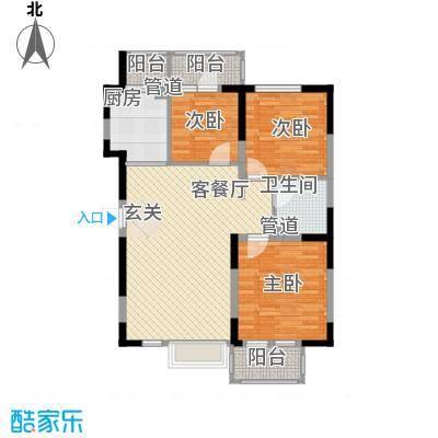 U-WORLD优品天地105.60㎡U-WORLD优品天地户型图A-5户型3室2厅1卫户型3室2厅1卫