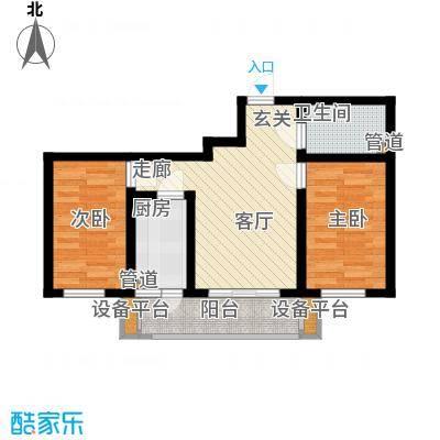 鸿景兴园鸿景兴园户型图户型图2室1厅1卫1厨户型2室1厅1卫1厨