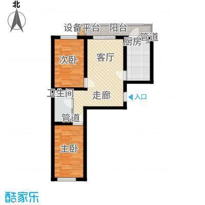 鸿景兴园鸿景兴园户型图户型2室1厅1卫1厨户型2室1厅1卫1厨
