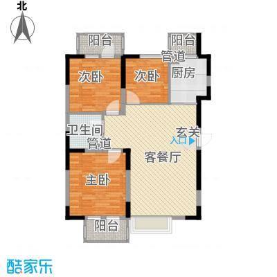 U-WORLD优品天地104.96㎡U-WORLD优品天地户型图A-6户型3室2厅1卫1厨户型3室2厅1卫1厨