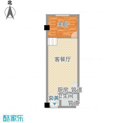 阳光VISA阳光VISA户型图一室一厅1室1厅户型1室1厅