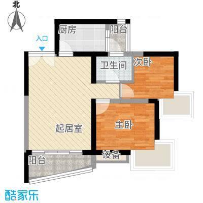 长城盛世家园二期67.02㎡深圳长城盛世家园二期户型图3户型10室