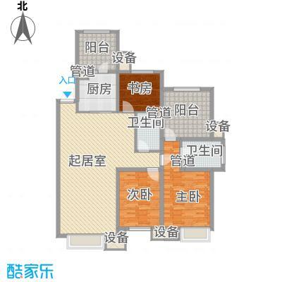 金地滨河国际社区147.00㎡金地滨河国际社区户型图A1户型3室2厅2卫1厨户型3室2厅2卫1厨