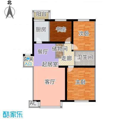 在水一方111.87㎡在水一方户型图3室2厅1卫户型10室