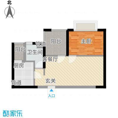 阳光公寓23.00㎡阳光公寓1室户型1室