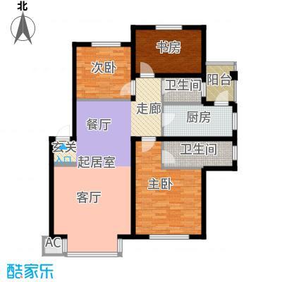 在水一方115.60㎡在水一方户型图3室2厅2卫户型10室