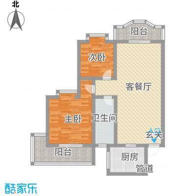 联大凯旋居111.84㎡联大凯旋居户型图2室2厅1卫户型10室