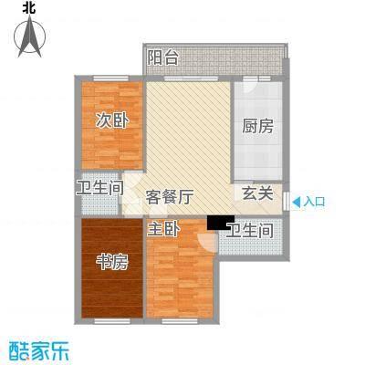 明和彩座111.00㎡明和彩座户型图3室1厅2卫1厨户型10室