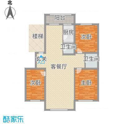金山小区146.05㎡金山小区户型图3室2厅2卫户型10室