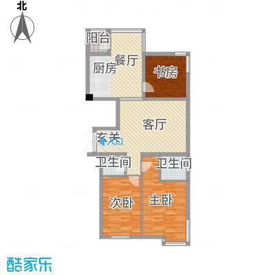 环宇世纪星城133.85㎡环宇世纪星城户型图3室2厅2卫户型10室