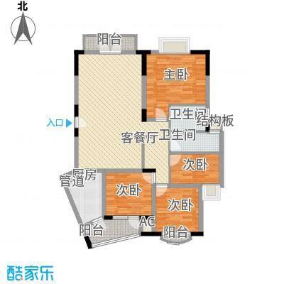 万科温馨家园万科温馨家园户型图四房二厅二卫一厨4室2厅2卫1厨户型4室2厅2卫1厨
