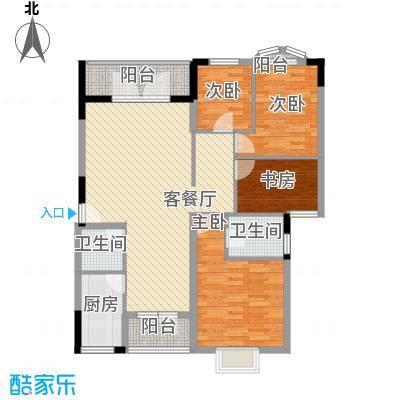 万科温馨家园深圳万科温馨家园户型图4户型10室