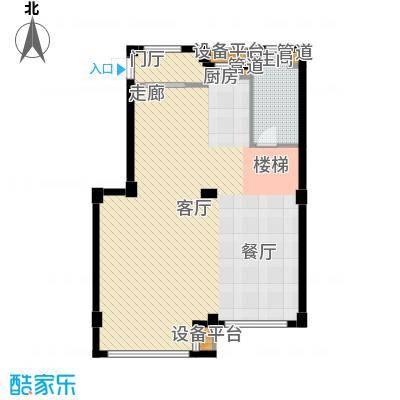 圣罗伦斯98.00㎡圣罗伦斯户型图G户型1层3室2厅2卫户型3室2厅2卫