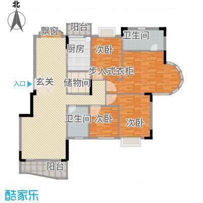 东城中心三期238.00㎡东城中心三期4室户型4室