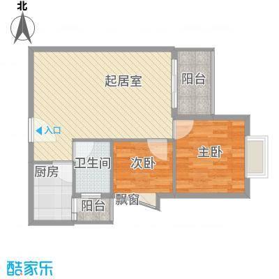 祥福雅居祥福雅居户型图户型图2室1厅1卫1厨户型2室1厅1卫1厨
