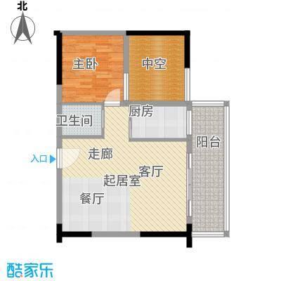 鼎峰卡布斯广场鼎峰卡布斯广场1室户型1室