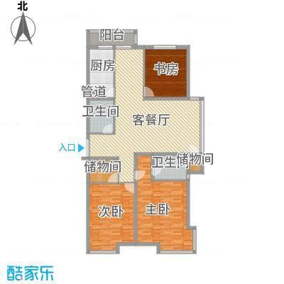 枫景名城165.15㎡枫景名城户型图3室2厅2卫户型10室