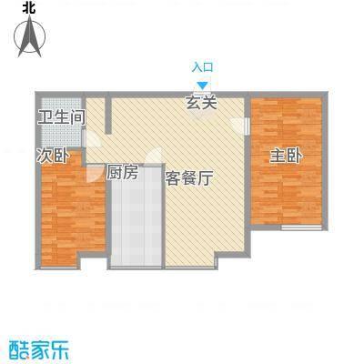 枫景名城108.82㎡枫景名城户型图2室2厅1卫户型10室