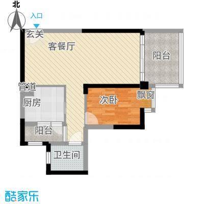 西山小区西山小区1室户型1室
