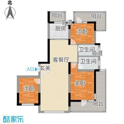 U-WORLD优品天地116.82㎡U-WORLD优品天地户型图户型图3室2厅2卫1厨户型3室2厅2卫1厨