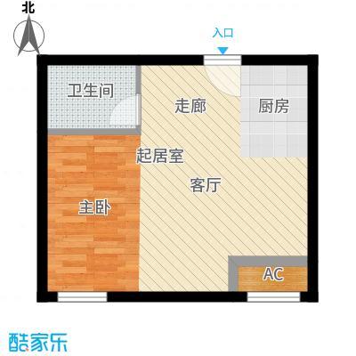 开发区国际大厦59.27㎡开发区国际大厦户型图G户型1室1厅1卫1厨户型1室1厅1卫1厨