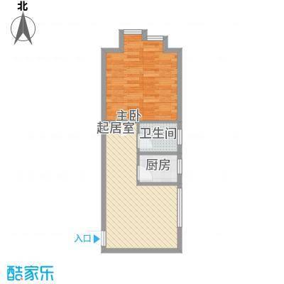 青果公寓67.19㎡青果公寓户型图户型图1室2厅1卫1厨户型1室2厅1卫1厨