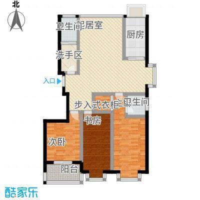 明湖花园户型图A户型 3室2厅