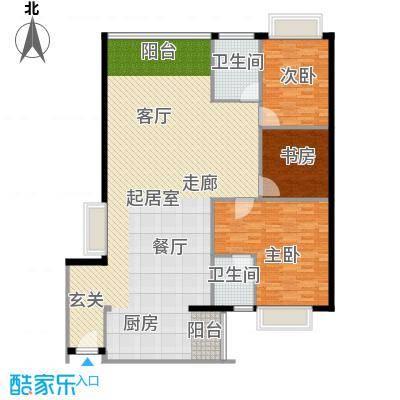 金成翠榕苑147.42㎡金成翠榕苑3室户型3室